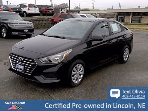 Certified Pre-Owned 2020 Hyundai Accent SE